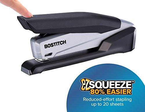 Bostitch Office One Touch cucitrice da scrivania, nero/grigio, 20fogli (INP20)