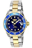 The Invicta 8928OB has a 40 millimetres stainless steelcase with a blue dial This model is powered by an accurate automatic movement 20 bar water pressure resistance. This Invicta watch features a screw-down crown, turn anti-clockwise, and pull the c...