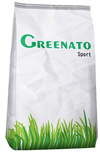 5kg Rasensamen Greenato Sport Sportrasen Sport- und Spielrasen Spiel Rasen Grassamen Rasensaat Gras