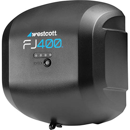 Westcott FJ400 AC/DC Lithium Polymer Battery - 480 Full Power Flashes, 0.9sec Recycle Time at Full Power