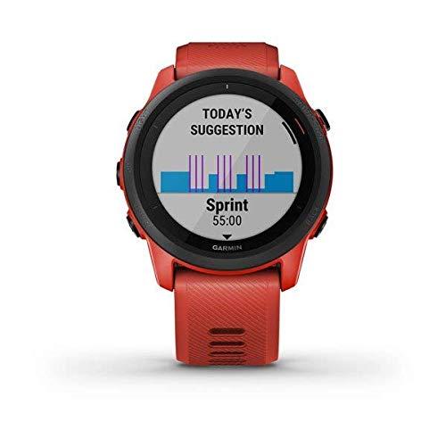 GARMIN FORERUNNER 745 orologio multisport GPS colore ROSSO art.010-02445-12