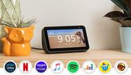 """Echo show 5 - smart speaker with 5.5 """"screen and alexa - black color"""