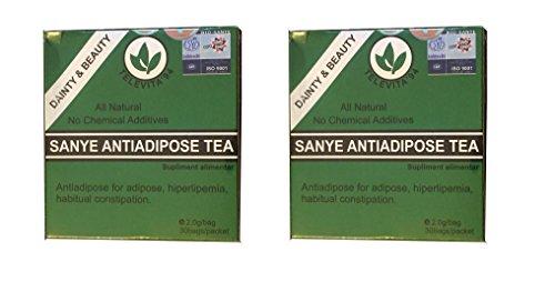2 xSanye - té anti ADIPOSO; ( SANYE ANTI - ADIPOSE TEA ) De
