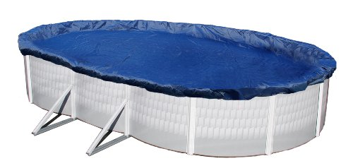 Blue Wave BWC922 Gold 15-Year 15-ft x 30-ft Oval Above Ground Pool Winter Cover,Royal Blue