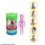 Mattel Barbie- Color Reveal Bambola Chelsea Assortimento a Sorpresa, Vestito e Acconciatura, Giocattolo per Bambini 3 + Anni, Modelli Asortiti, GPD41