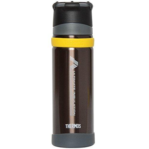 THERMOS 山専用ボトル ステンレスボトル 0.5L ブラック(BK) FFX-500
