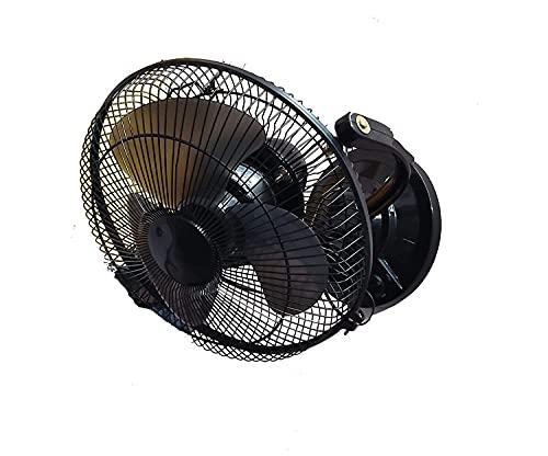 ENAVIJ 3 in 1 Fan( Table fan, Wall Fan, Ceiling Fan) High Speed Mini Wall Cum Table Fan Small Size 3 Speed copper motor 12 Inch Black Table Fan for home, Non Oscillating|| Model – Black beauty || WR7