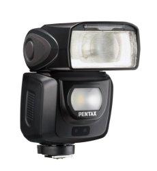 Pentax AF-360 FGZ II - Flash para cámara fotográfica reflex, color negro