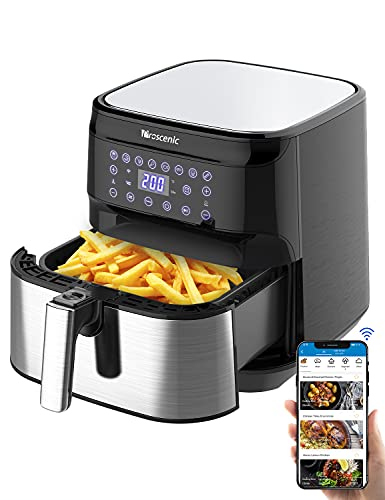 Proscenic T21 Smart Air Fryer XL 5.8 QT for Home, Works with Alexa