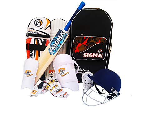 Sigma Pro Series Complete Cricket Kit, Cricket Set (Men)