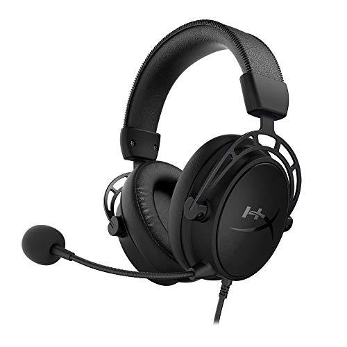 HyperX Cloud Alpha S ゲーミング ヘッドセット 7.1サラウンドサウンド 低音調節スライダー ブラック 2年保...