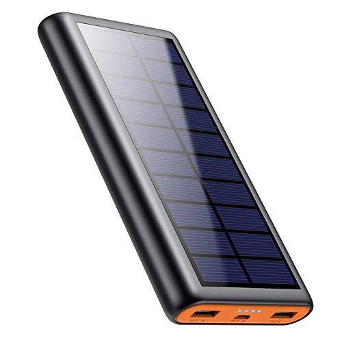 Solar Charger, 26800mAh Battery Power Bank