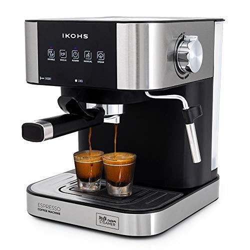 IKOHS TAZZIA AROMA - Macchina del Caffè Espresso Automatica (Grigio)