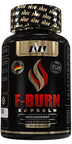 MVN F-Burn Kapseln hochdosiert, 60 Stück