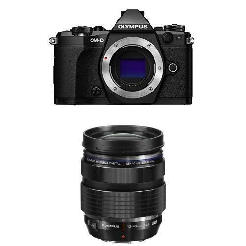 Olympus OM-D E-M5 Mark II (Black) w/ M. Zuiko Digital ED 12-40mm f/2.8 PRO Lens