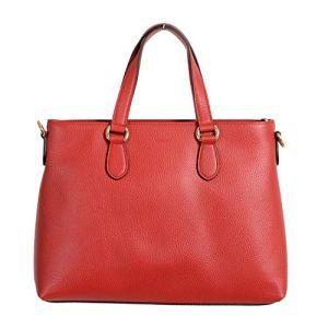 Gucci 100% Leather Red Women's Handbag Shoulder Bag 4