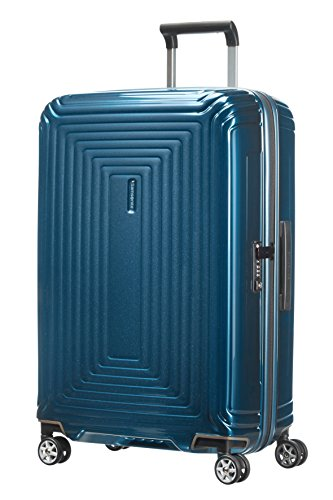 Samsonite Neopulse - Spinner M Koffer, 69 cm, 74 L, blau (Metallic Blue)
