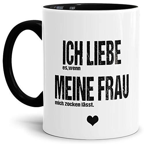 Spruch Tasse für den Mann Ich Liebe Meine Frau - Zocken/Witzig/Geschenk-Idee unter Freunden oder...