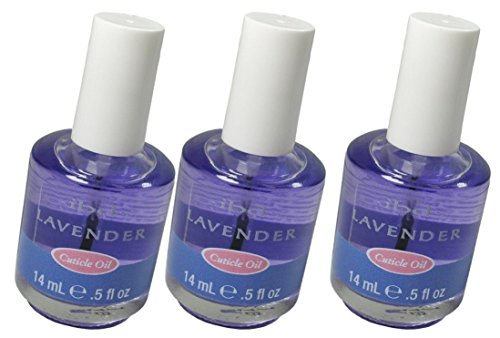 ibd Lavender Cuticle Oil hydrates damaged cuticles whilst promoting healthy nail growth - Size 0.5 floz 14ml (Pack 3)