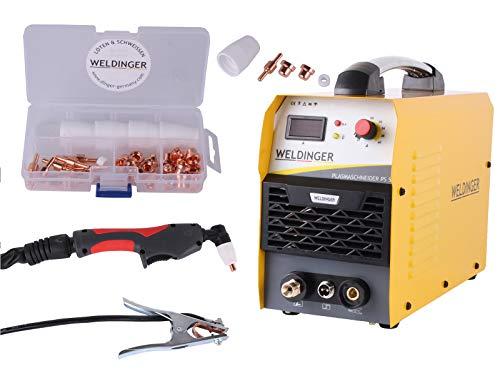 Aktionsset WELDINGER Plasmaschneider PS 52 + Verschleißteileset CUTSet 1 37-tlg.