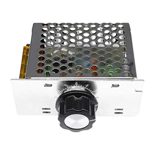 Cdrox 4000W 220V AC SCR - Modulo regolatore di velocit del motore per regolatore di tensione...