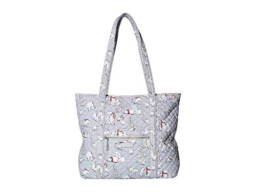 4193ZQc8MdL MACHINE WASHABLE SIGNATURE COTTON -- The fabric you know & love, our quilted cotton is lightweight yet durable, & comes in a variety of colorful patterns EVERYDAY USE -- Vera Bradley tote bags are perfect for any occasion - whether you are heading to work, on a weekend getaway, going to a party, or traveling, they are your perfect daily companion - & make great gifts too PACK IN STYLE -- With printed polyester lining & 6 slip interior pockets, keep your daily commute thoroughly organized with style all over - toss in your lipstick & laptop & keep your protein bars separate from your pens