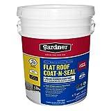 Gardner Flat Roof Coat-N-Seal Liquid Rubber Coating (5 Gallon)