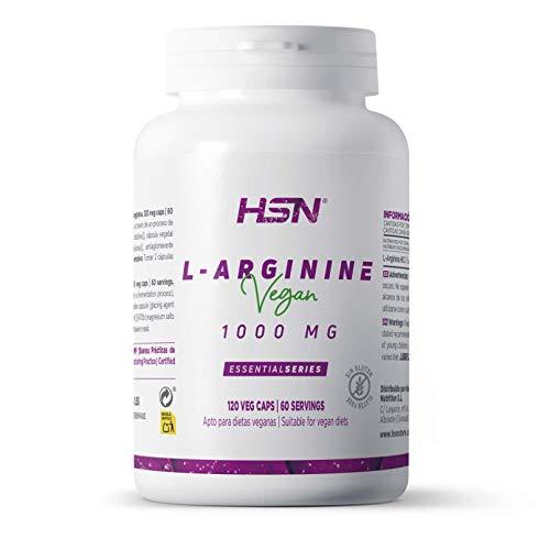 Arginina 1000mg de HSN   Óxido Nítrico, Mejora el Rendimie