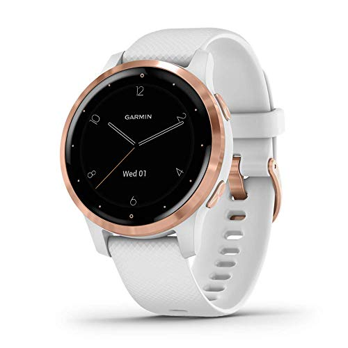 Garmin vívoactive 4S - Reloj Inteligente con GPS y Funciones de...