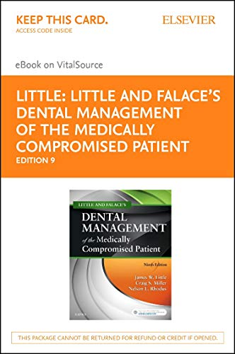 Little and Falace's Dental Management of the Medically Compromised Patient - Elsevier eBook on Vital