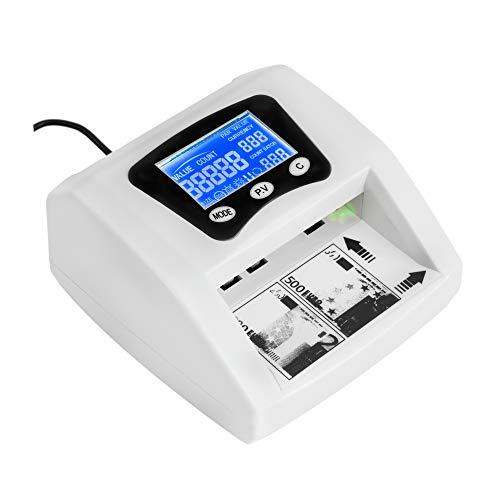 JeVx Maquina Detector y Contador de Billetes Falsos Automati