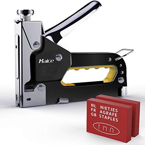 Graffatrice Manuale,Haice Professionale 3 in 1 Pistola per Smerigliatrice/Graffatrice per Impieghi...