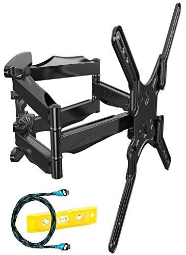 Invision Supporto a Parete per TV con Doppio Braccio Ultra Forte - Per 24-55 pollici LED LCD OLED...