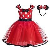 Lito Angels Deguisement Robe Princesse Minnie Enfant Fille, Anniversaire Fete...