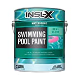 INSL-X WR102409A-01 Waterborne Semi-Gloss Pool Paint, 1 Gallon, Royal Blue