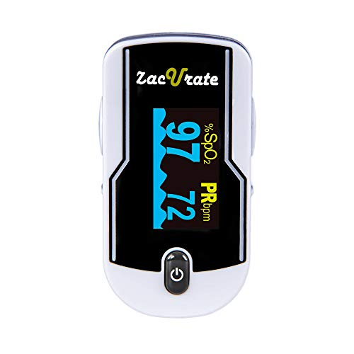 Zacurate 500E Premium Fingertip Pulse Oximeter