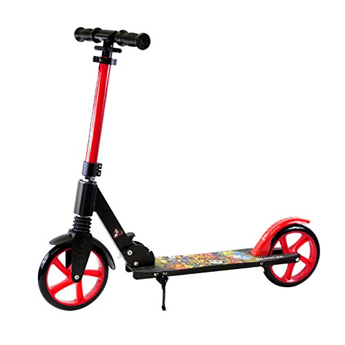 Teen/Adult Black Kick Scooter Portable...