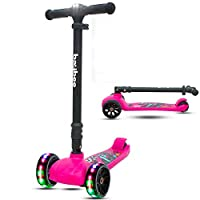 Safety First - En 71 for Safety Certified to make the riding time safest for your child. It can be used by children of 3-12 years & has weight capacity till 100 Kgs of the Deck. Its so strong and safe that even Parents can ride INNOVATIVE DESIGN WITH...