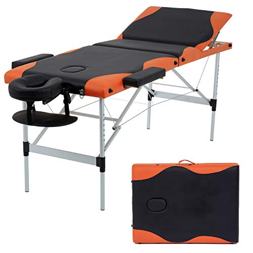 Massage Table Massage Bed Spa Bed 84 Inch Height...
