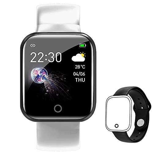 Smart Watch for Android Phones,FitnessTracker with Heart Rate Blood Pressure Monitor Activity Tracker Watch IP67 Waterproof Sleep Monitor Pedometer for Women Men Kids (Gold Black+Pink)