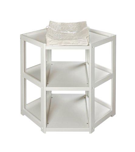 2. Badger Basket Diaper Corner Changing Table