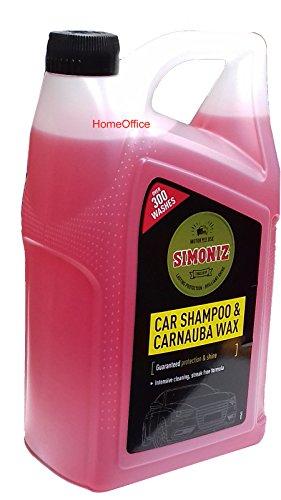 Simoniz NEW Professional Car Wash Shampoo & Wax **LARGE 5 LITRE CONTAINER**