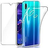 Coque Huawei P Smart 2019 / Honor 10 Lite Transparente + Verre trempé...