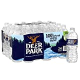 Deer Park (24 Pack) 100% Natural Spring Water, 16.9-ounce Plastic Bottles