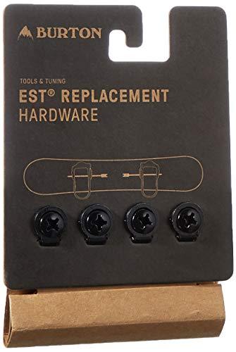 Burton EST Hardware Set, Ricambi Attacchi Uomo, Nero, Taglia Unica