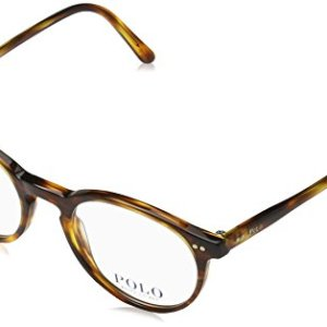 Polo Men's PH2083 Eyeglasses Havana Striped 48mm