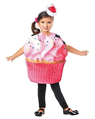Seasons Inc Toddler Girls Cupcake Confetti Costume Size 2T-4T