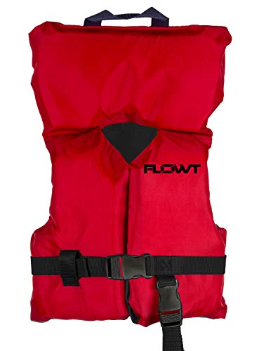 Flowt Multi Purpose 40202-2-INFCLD Multi Purpose Life Vest, Type II PFD, Red, Infant / Child, Fits 0 - 50 lbs