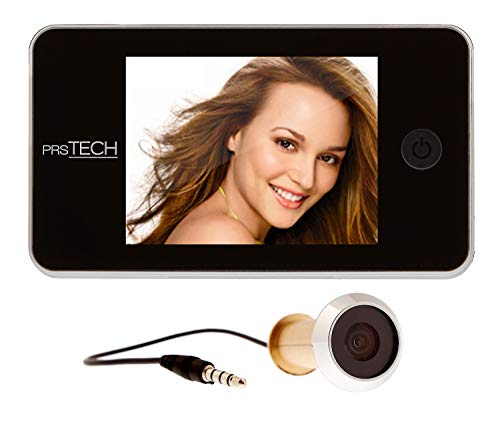prsTECH® DoorCAM DC2 spioncino digitale elettronico per porta, telecamera