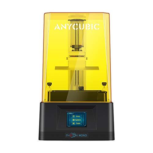 ANYCUBIC PHOTON 光造形式 3Dプリンター UV レジン + FEPフィルム付属 デスクトップ 2K 高精度 UV-LED LCD ...